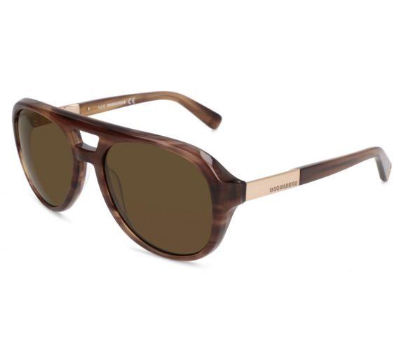 DSQUARED2 lunettes de soleil marron
