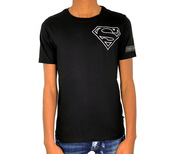 "T-Shirt ""super duper"" philipp plein"