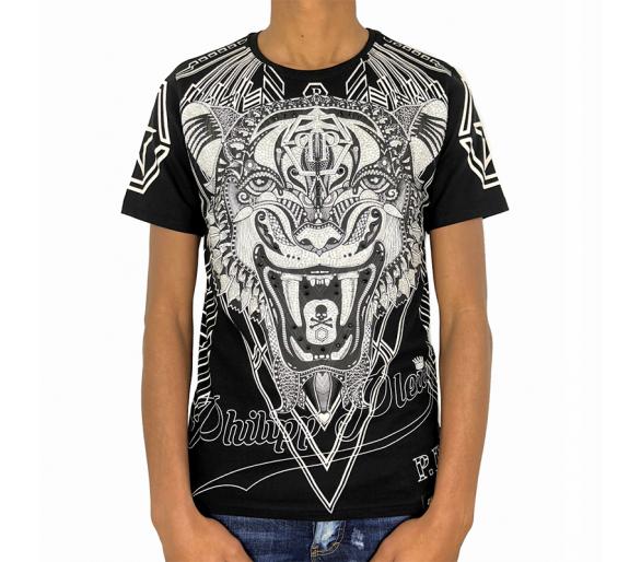 """T-Shirt Round Neck SS """"Psychological"""" philipp plein"""
