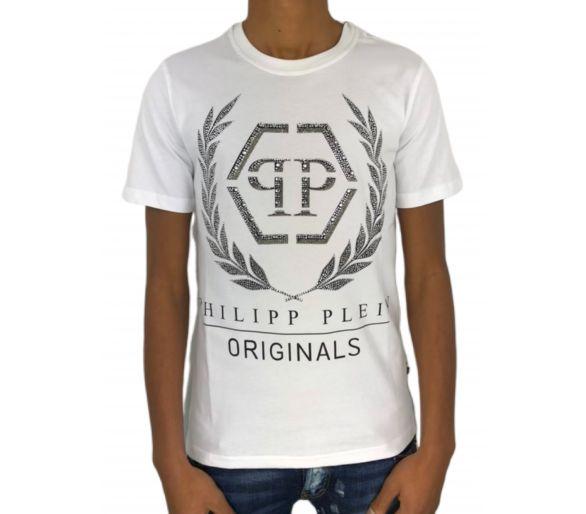 """Philipp plein T-shirt Round Neck SS """"Span"""""""