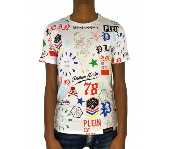 "Philipp plein T-shirt Round Neck SS ""My view"""