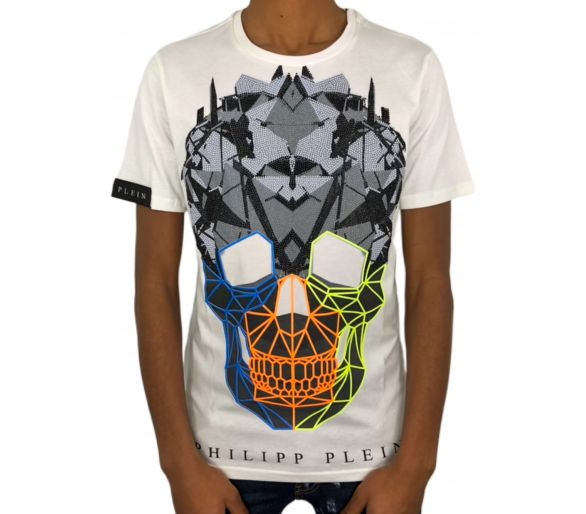 "Philipp plein T-shirt ""rainbow colors"""