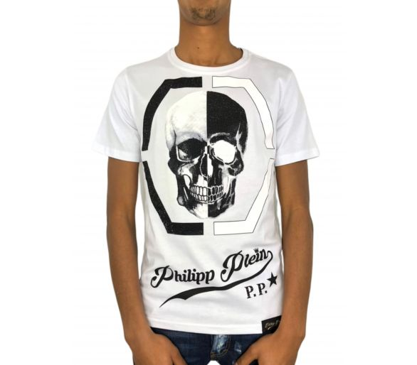 "Philipp plein T-shirt Round Neck SS ""Ideal"""