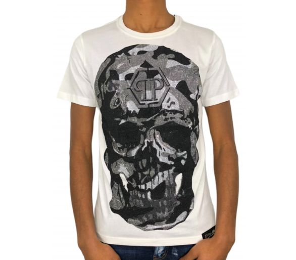 T-Shirt Round Neck SS Gold philipp plein