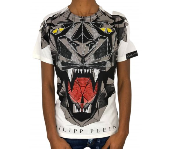 "T-Shirt ""bit us"" philipp plein philipp plein"
