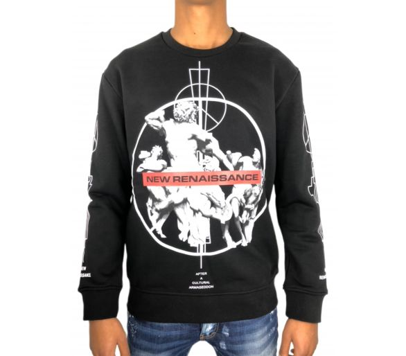 Marcelo Burlon fainu crewneck black