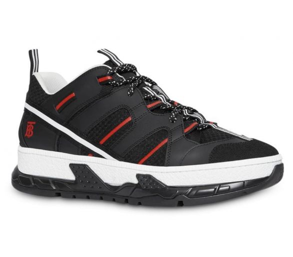 Burberry Rs5 Sneaker Noir/rouge