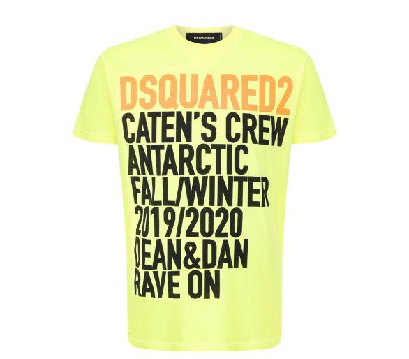 DSQUARED2 T-shirt jaune
