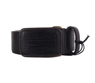 ceinture dsquared noir taille 105