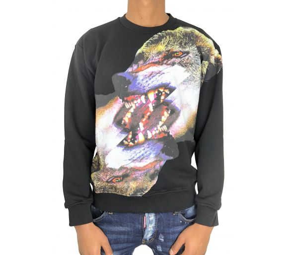 Marcelo Burlon sweat tobias black