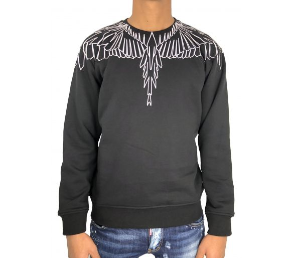 Marcelo Burlon anne crewneck black