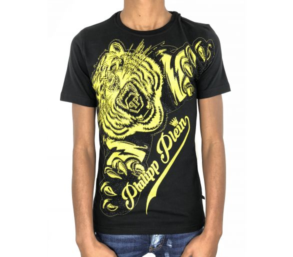 "Philipp plein T-Shirt Round Neck SS ""Claws"""