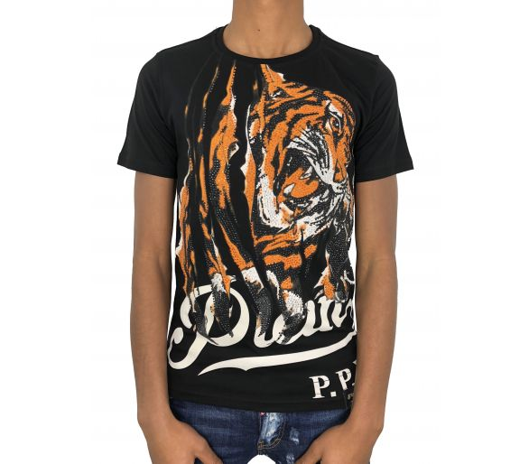 "Philipp plein T-shirt Round Neck SS ""Immediate"""