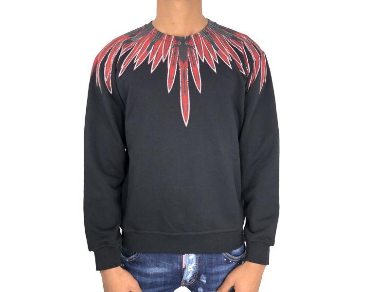 Marcelo Burlon teodoro sweatshirt black