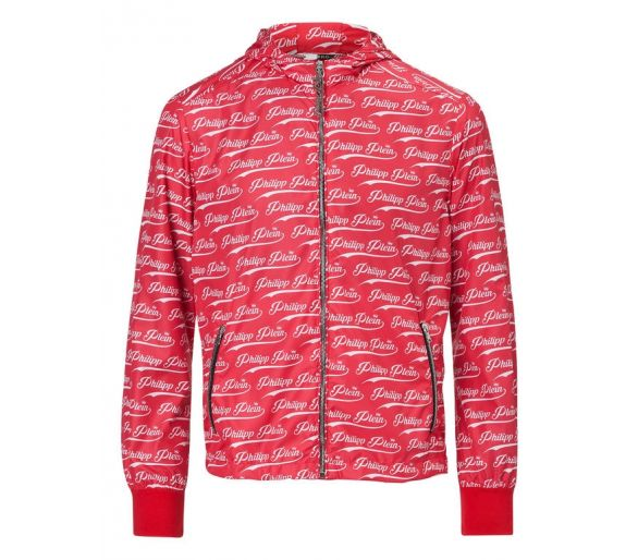 "Philipp plein Nylon jacket ""Wine"""