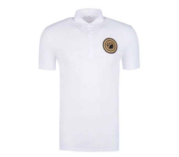 VERSACE Collection polo blanc