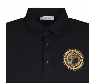 VERSACE Collection polo noir