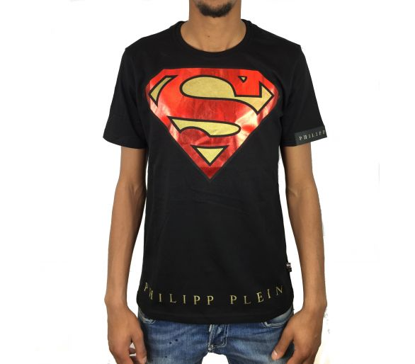 "t-shirt ""super philipp"" philipp plein"