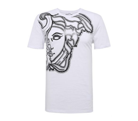 VERSACE collection t-shirt blanc