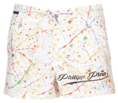 "PHILIPP PLEIN BEACHWEAR TROUSERS ""MY COLORS"""