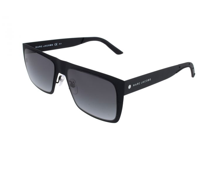 5b671c4a694654 MARC JACOBS Lunettes de soleil homme Noir - Une Marque Un Style